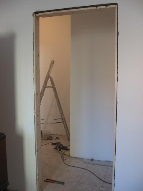 Montaggio porte con sostituzione telaio - Montaggio controtelaio porta ...