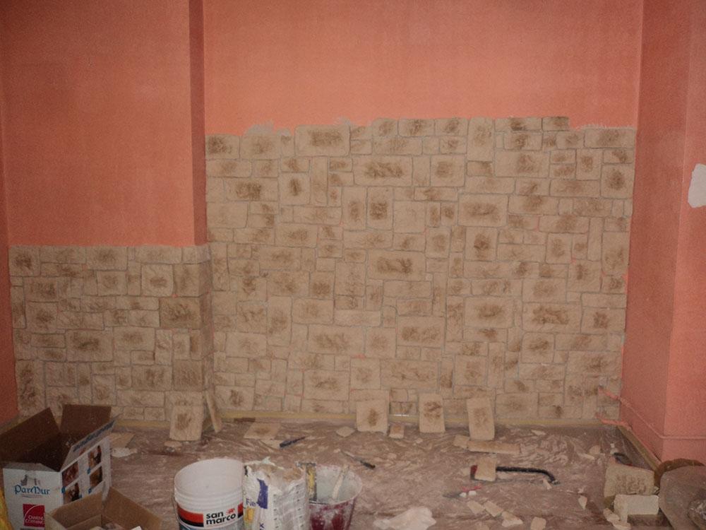 Rivestimento muro in pietra finta for Bricoman rivestimenti pietra